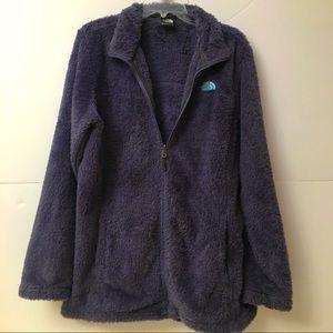 North Face Zip Up Fleece Jacket EUC